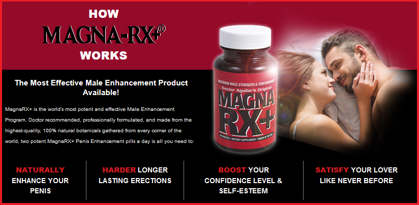 Male Enhancement Pills Magna RX Features List