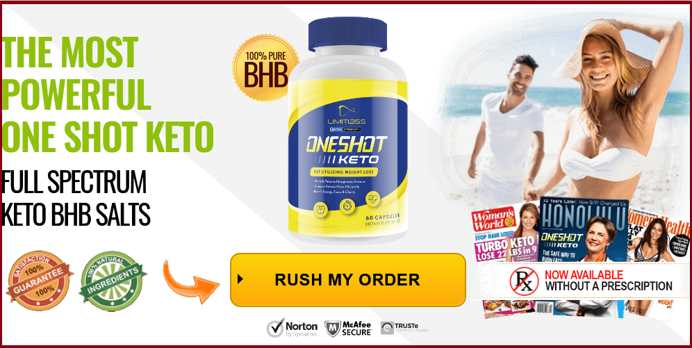 One Shot Keto Supplement Pills