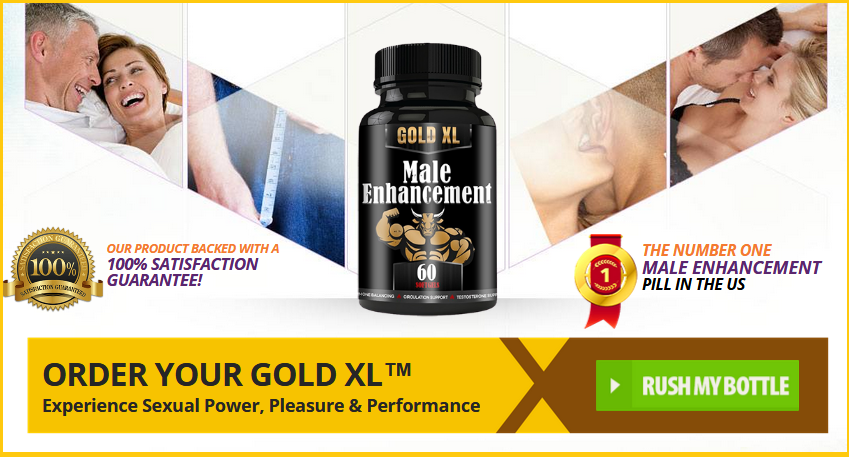 Gold XL Male Enhancement Pills